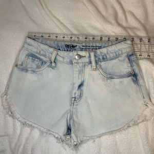 High waisted shorts size 4